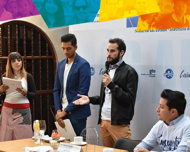 Presenta Guanajoven y el Instituto Municipal de la Juventud Encuentro Estatal de Juventudes 2018