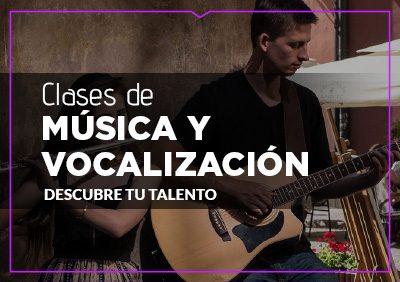 MÚSICA Y VOCALIZACIÓN
