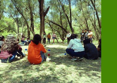 Mesa de trabajo Medio Ambiente. 2do. Foro Juventudes Bienestar integral